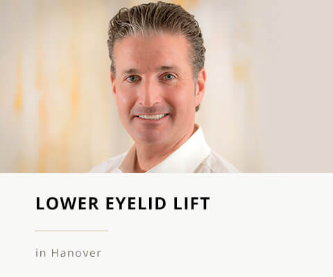 Lower Eyelid Lift, Special Clinic for Plastic Surgery Hannover, Klinik am Pelikanplatz, Dr. Entezami